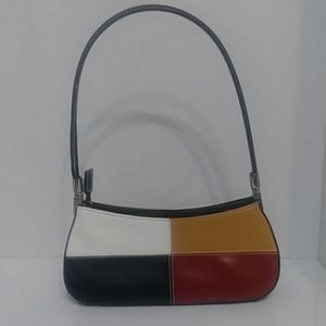 Handbags - NWOT. ADORABLE MULTICOLRED LEATHER PURSE